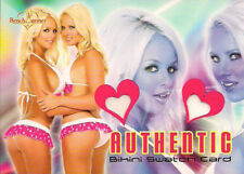 2007 BENCHWARMER - THE OLLY GIRLS - DUAL BIKINI SWATCH