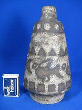 "Beautiful glazed 70´s design Ceramano pottery Keramik vase ""Ägina""  127/1   21cm"