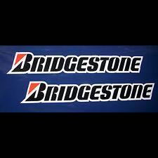 2x Aufkleber Sticker Bridgestone 3-farb. #0355