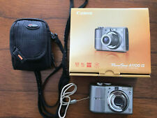 Canon PowerShot A1100 IS 12.1MP Digital Camera PC1354 w/ Case & Box