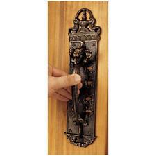19th Century Antique Replica Foundry Iron Dragon Body Castle Door Handle