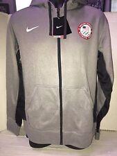 Limited Edition Nike 2016 Rio Olympics Team USA Full-Zip KO Hoodie Sweatshirt L