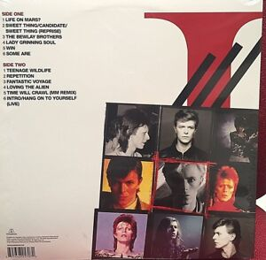 David Bowie – iSelect - VINYL RED 2015 BOWIE IS FRANCH - SEALED MINT -  RARE!!