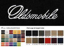 Lloyd Mats Oldsmobile Custom Embroidered Velourtex Front Floor Mats (1959-2004)
