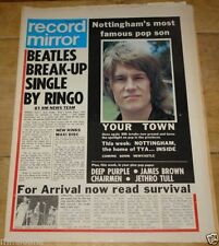 March Record Mirror Music, Dance & Theatre Magazines in English