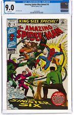 The Amazing Spider-Man #6 annual (Nov 1969, Marvel Comics) CGC 9.0 VF/NM |