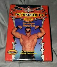 WCW licensed, factory-sealed Nitro Trading Card Game, Starter Level (from 2000)