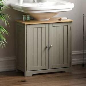 Bath Vida Under Sink Bathroom Cabinet Floor Standing Storage Cupboard Basin New