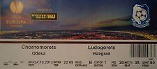 TICKET UEFA EL 2013/14 Chornomorets Odesa - Ludogorets Razgrad