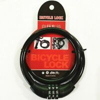 Mountain Bike Lock Cable Bicycle Steel Chain Locks with 3 Digit Code Combination