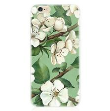 Tropical Flowers TPU Silicone Soft Case Cover For Apple iPhone 5 5SE 6 6S 7 Plus