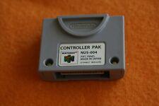 Original Nintendo 64 Controller Pak NUS-004 Memory Card
