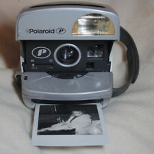 Cámara instantánea Polaroid P600 plata y negro Totalmente probado