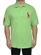 Ralph Lauren Mesh Cotton Polo Big Pony Shirt T-Shirt Top Lt. Green 1XB Nwt $89