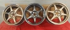 "18"" SSR Type-C Wheels 5x100 3 Total JDM WORK RAYS"