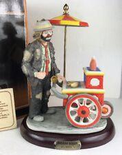 1987 Emmett Kelly Wheeler Dealer Porcelain Figurine Limited Edition 3904/7500