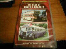 THE BEST OF BUSES AND COACHES VHS VIDEO  TAPE