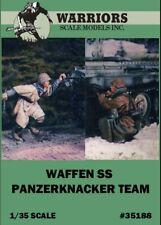 Warriors 1:35 Waffen SS Panzerknacker Team - 2 Resin Figures Kit #35188