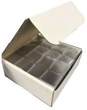 2x2 Frame A Coin Flips Soft Vinyl Double Pocket Clear Holders Dealer Bulk 1000
