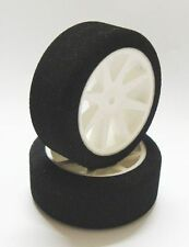 """Neumáticos 1/10 esponja Kyosho 42sh ANTERIOR 26mm """" PRECIO LOCO último PIEZAS"""""""