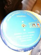 Add-O-Bank w/ Key Mechanical Counting Coins Union National Life Insurance