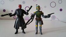 Star Wars Figur Llats Ward Republic Elite & Darth Maul Hasbro Kenner Legacy RAR