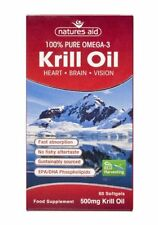 Natures Aid Krill Oil 500mg (Superba) 60 Caps