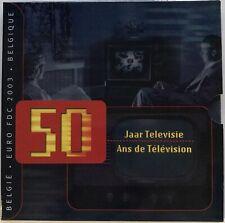 Belgique - Coffret BU - Les Euros de l'Année 2003 - TELEVISION