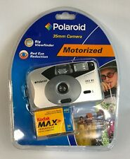 Polaroid 35mm Camera Auto Flash with Red-Eye Reduction 252 BV Big Viewfinder NEW