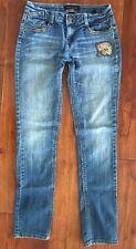 Baby Phat girls straight leg jeans~❤️~size 16