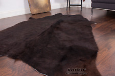EXOTIC Tyrant Grizzly Rodeo Cowhide rug [size 5.9 x 4.8 ft ]---1623