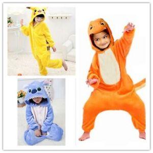 Pokemon Charmander Adult Animal Kigurumi Pajamas Pikachu Onesi88 Kids Costume MZ