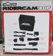 NEW MotoComm Ridercam 30F Hands Free Quick Release Digital Video Camera Kit #55