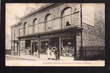 Boosbeck near Guisborough - A. Rushby & Son, Presentation Stores - printed p/c.