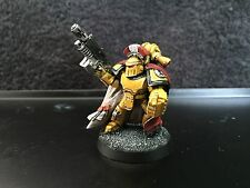 Warhammer 40k Space Marines Imperial Fists Captain Fully painted