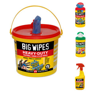 Big Wipes Heavy Duty Multi Surface Industrial Cleaning Surfaces Tools Workshop