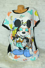Italy New Collection Big Oversized Mickey Mouse Gr. 38 40 42 44 blogger Kleid