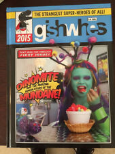 Limited Edition Gishwhes 2015 Coffee Table Book Misha Collins Hardcover Rare