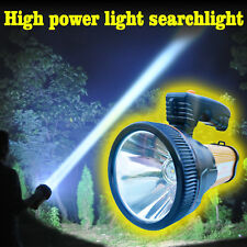 Super Bright Outdoor Handheld Searchlight USB Rechargeable Flashlight Torch