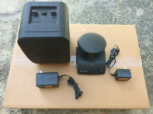 Recoton Wireless Speaker System w/ Transmitter & Original AC Power Adapters