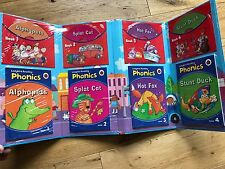 Ladybird Reading Phonics: Book 1 - 4 Paperback Books and CDS Brand New Sealed