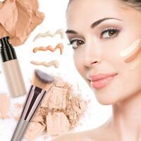Single Wood Handle Makeup Brush Foundation Blush Powder Face Pens Cosmetic Tools