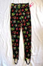 XS Xhilaration Leggings Stir Up Velvet Ugly Sweater Print Christmas Holiday NEW