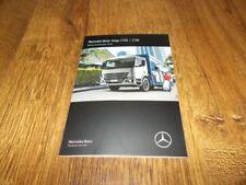 Mercedes-Benz Atego 1725/1726 Trucks Brochure Prospekt