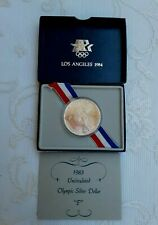 """US.STATE MINT SILVER 1983 UNCIRCULATED OLYMPIC SILVER DOLLAR  """"P""""  UNOPENED"""
