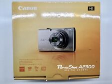 New CANON Power Shot A2300 Camera in Black. 16MP, 5X Optical Zoom.