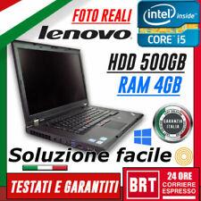 Notebook e portatili Lenovo ThinkPad W530