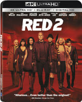 Red 2 [New 4K UHD Blu-ray] With Blu-Ray, 4K Mastering, 2 Pack