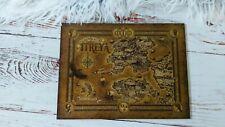 Illumicrate Darkdawn Nevernight Wooden Map Board by @virginiaallyn & James Orr