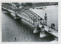 Königin-Luisenbrücke in Tilsit. Orig-Pressephoto, von 1939